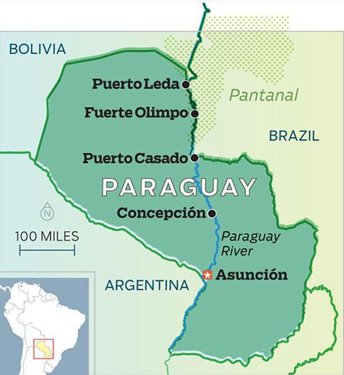 size of paraguay - Hobit.fullring.co
